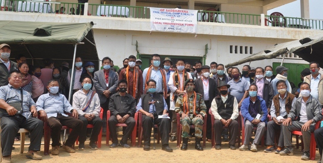 FREE MEDICAL CAMP FOR OLD AGE AND PENSIONERS CONDUCTED AT PHEK